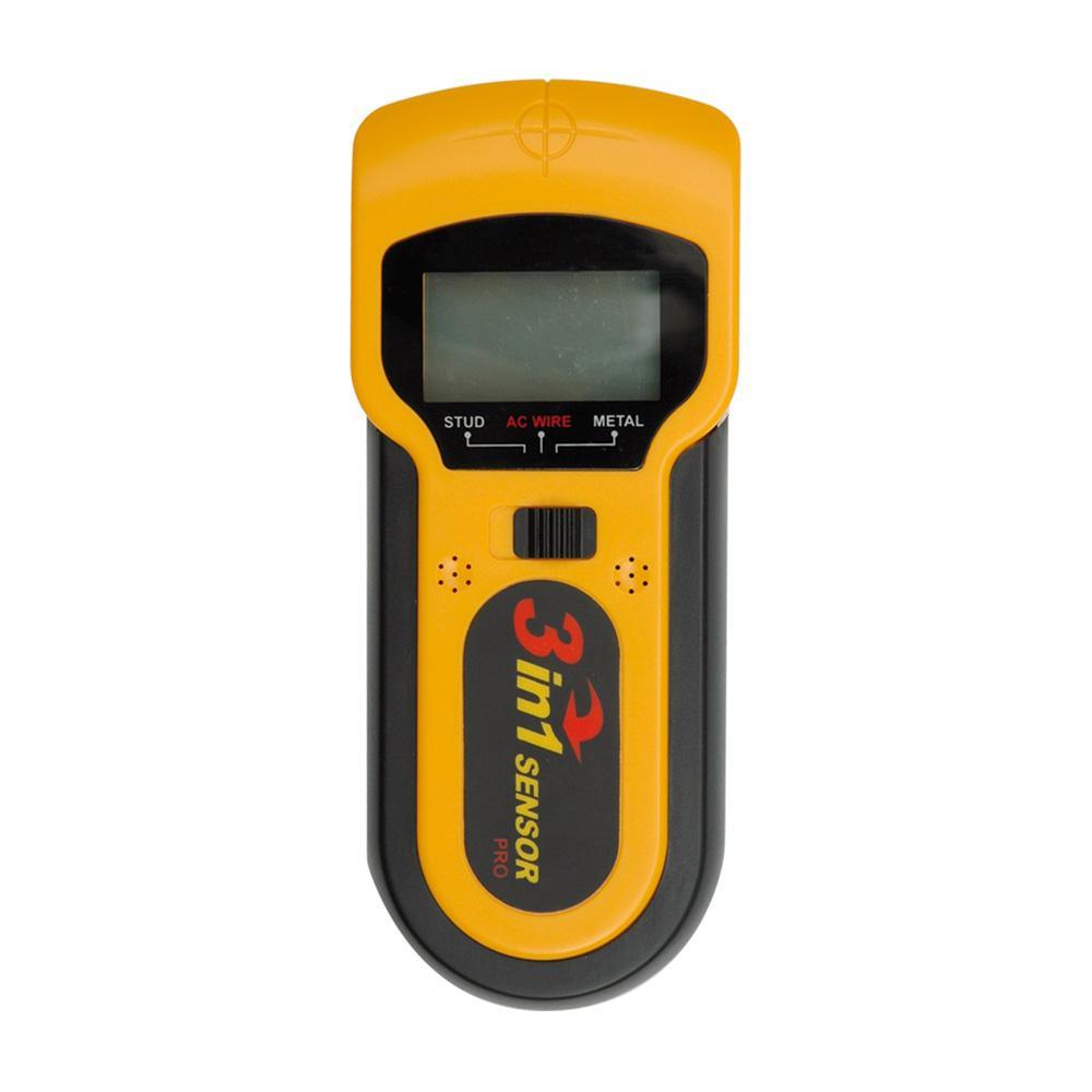 leitungssuchgerät multi-detektor scanner 3 in 1 metalldetektor